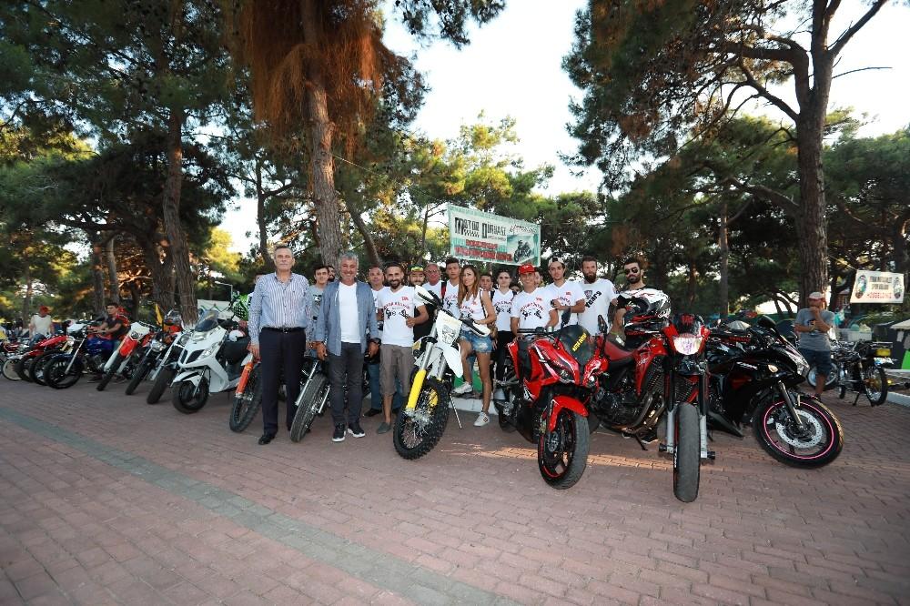 7. Uluslararası Manavgat Motosiklet festivali başladı