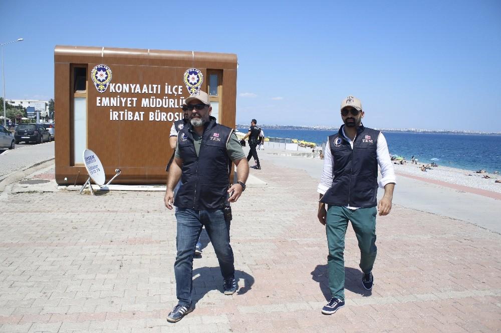 Antalya Emniyetinden su/hava ve spor merkezlerine denetim