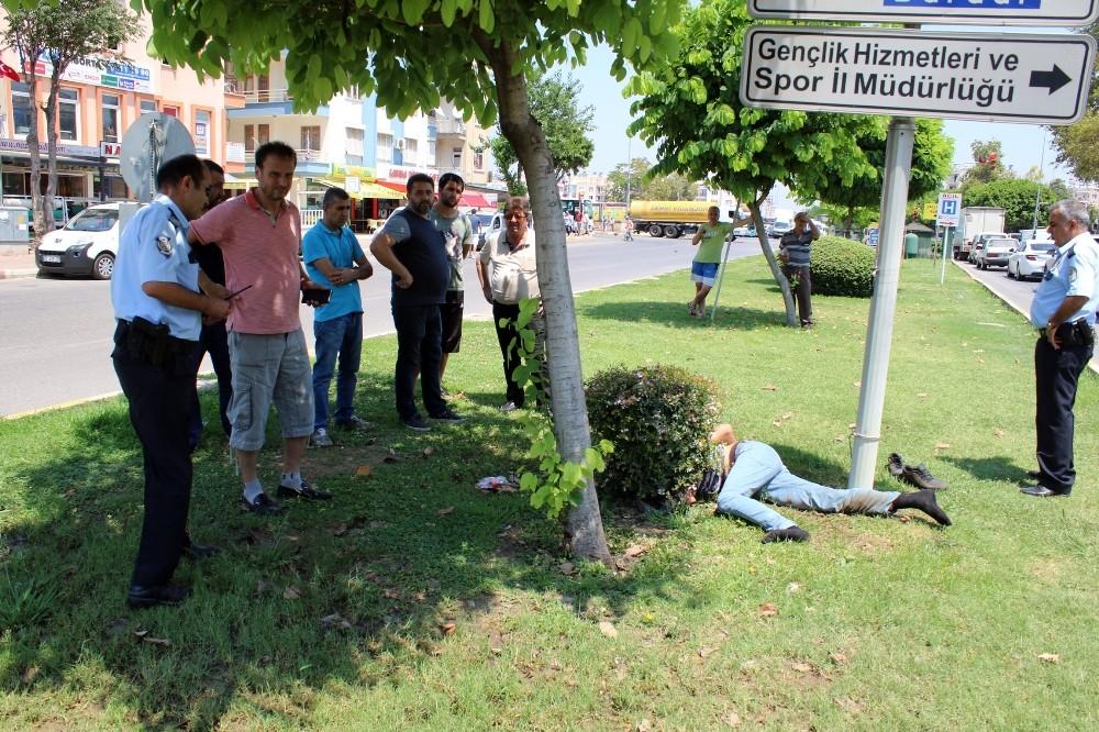 Antalya'da bonzai kullanan genç krize girdi