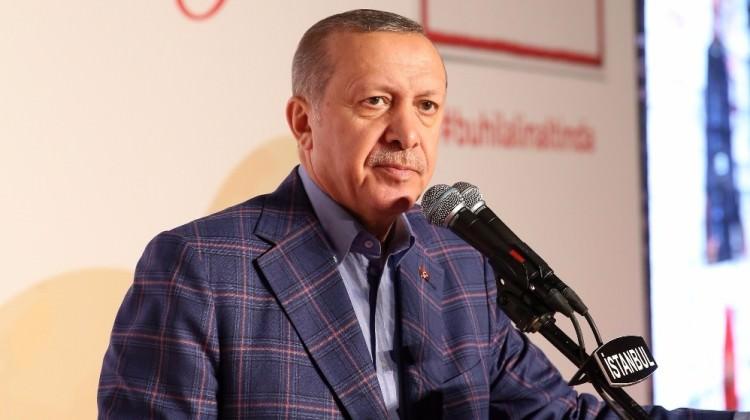Cumhurbaşkanı Erdoğan Kızılay töreninde konuştu