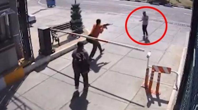 İran televizyonunun paylaştığı şok görüntüler