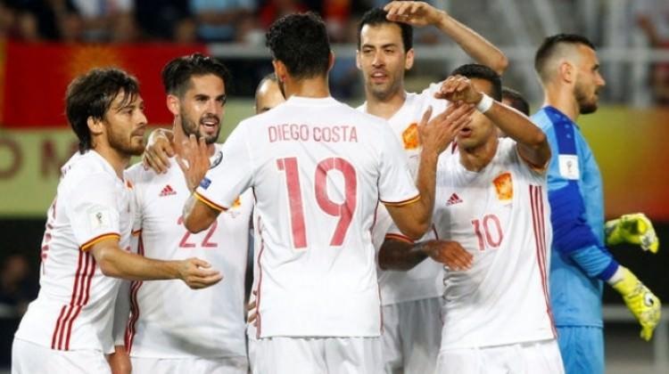 İspanya kendini sıkmadı