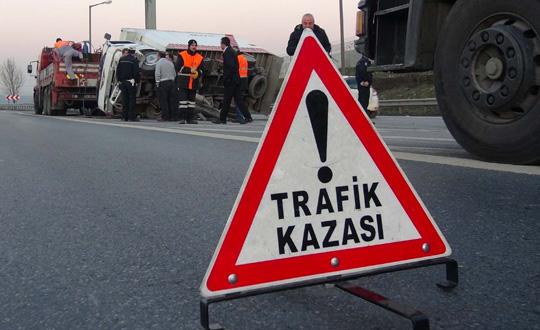 Antalya'da 2016'da trafik kazası bilançosu