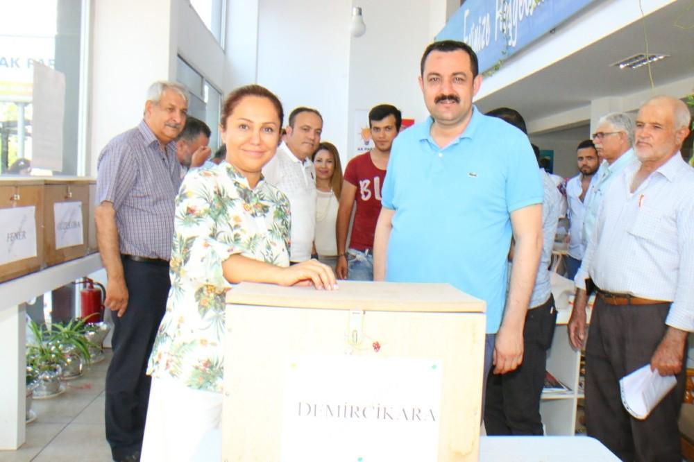 AK parti delege seçimleri tamamlandı