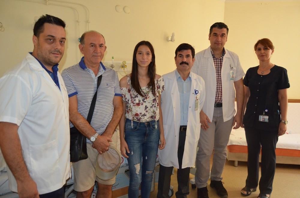 Alanya'da iki hastaya Ürolojik Laparoskopi ameliyatı gerçekleştirildi