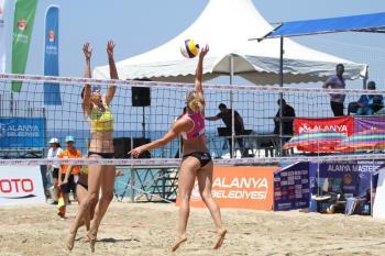 Alanya'da Kadınlar Plaj Voleybolu Avrupa Şampiyonası