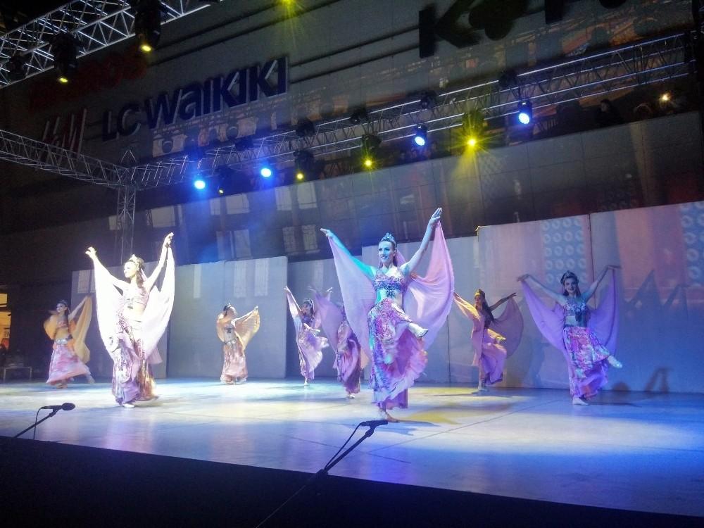 Anadolu Ateşi dans stüdyosu Antalya'da açıldı
