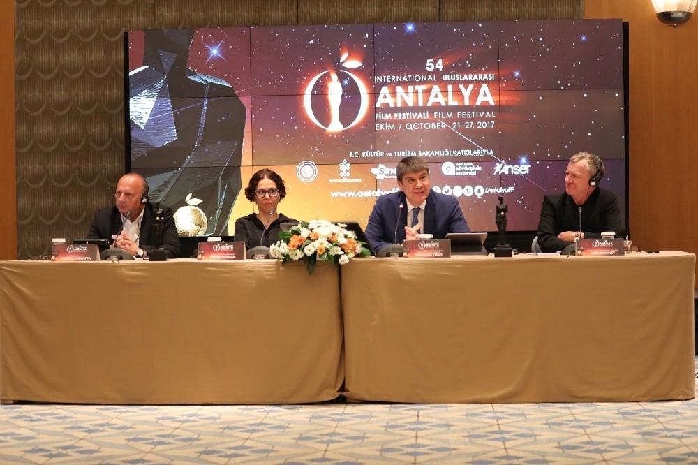 Antalya Film Festivali'nin ikinci tanıtım toplantısı İstanbul'da yapıldı