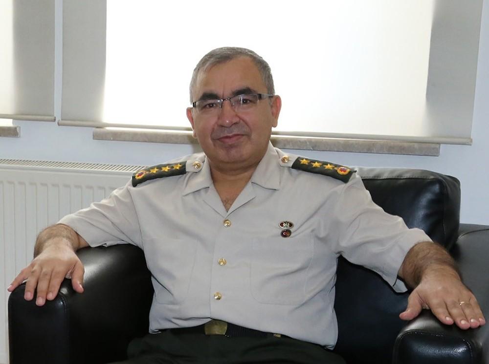 İl Jandarma Komutanlığı'nda görev değişimi