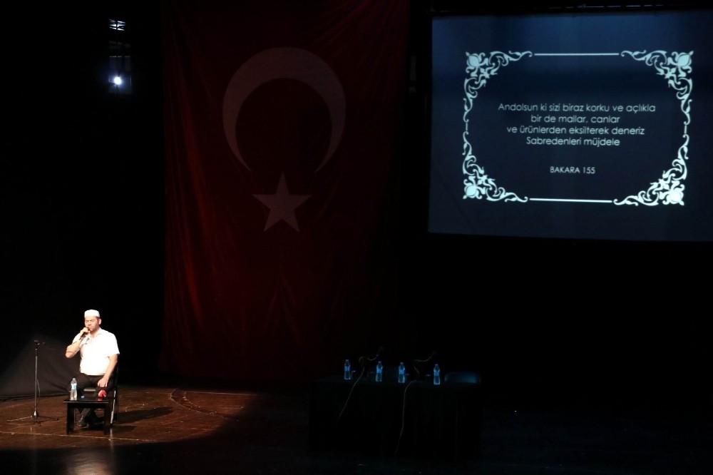 Antalya'da Darbe ve Vesayete Karşı 15 Temmuz Bir Diriliş Destanı