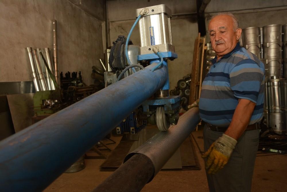Antalya'da yılın ahisi 48 yıllık soba ustası oldu