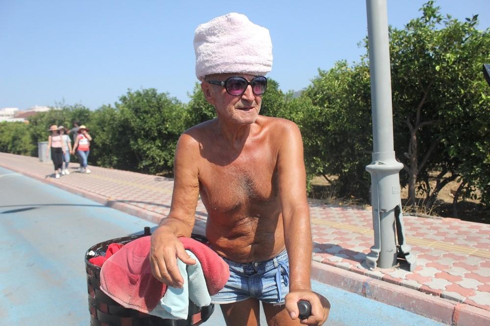 Kemer'de Aşırı sıcağa kavuklu önlem