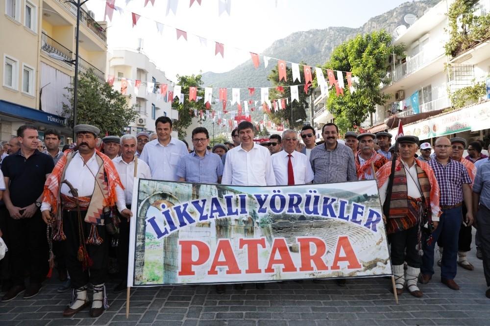 Başkan Türel, Kaş Festivali'nde