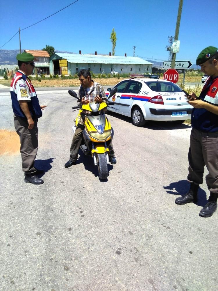 Emniyet ve Jandarma'dan motosiklet uygulaması