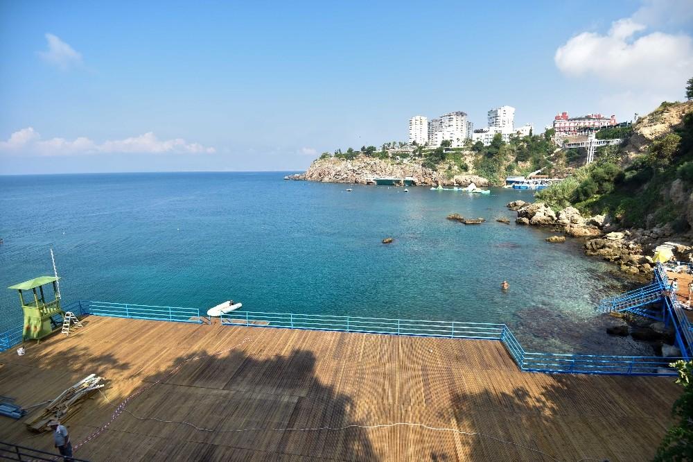 Falezlere yeni halk plajı