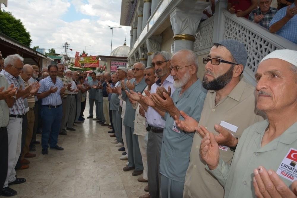 Hacı Adayları için uğurlama töreni