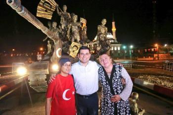 Tütüncü;15 Temmuz Demokrasi Anıtımız açılış için hazır