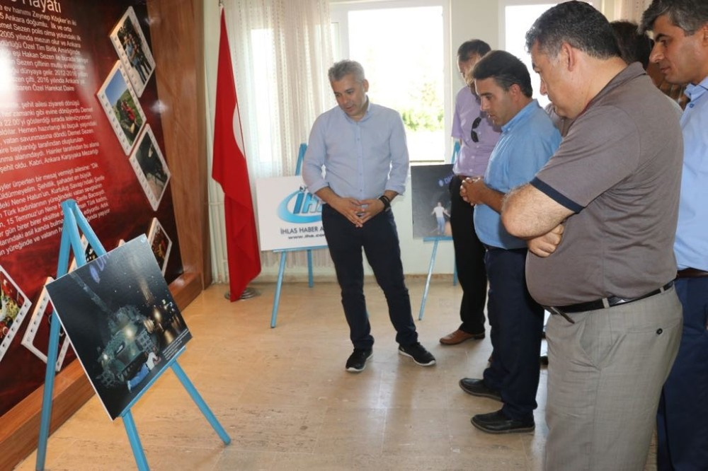 Gazipaşa'da İHA'nın 15 Temmuz Destanı Fotoğraf Sergisi