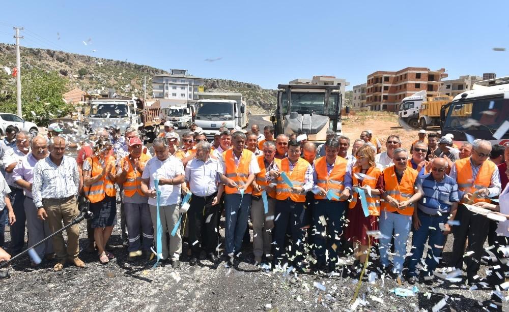 Kepez'de asfalt sezonu açıldı