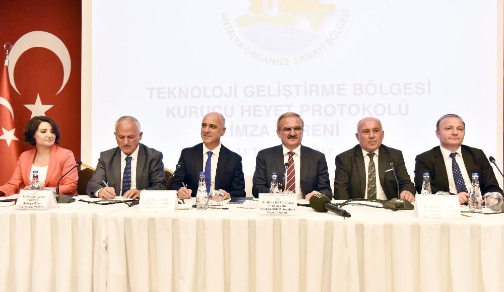Teknoloji Geliştirme Bölgesi kurucu heyet protokolü imzalandı