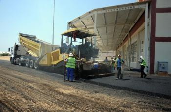 Varsak Sanayi'ye yeni asfalt