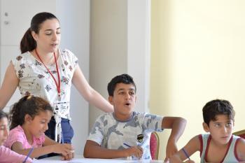Zeytinköy'ün çocukları için yaz okulu