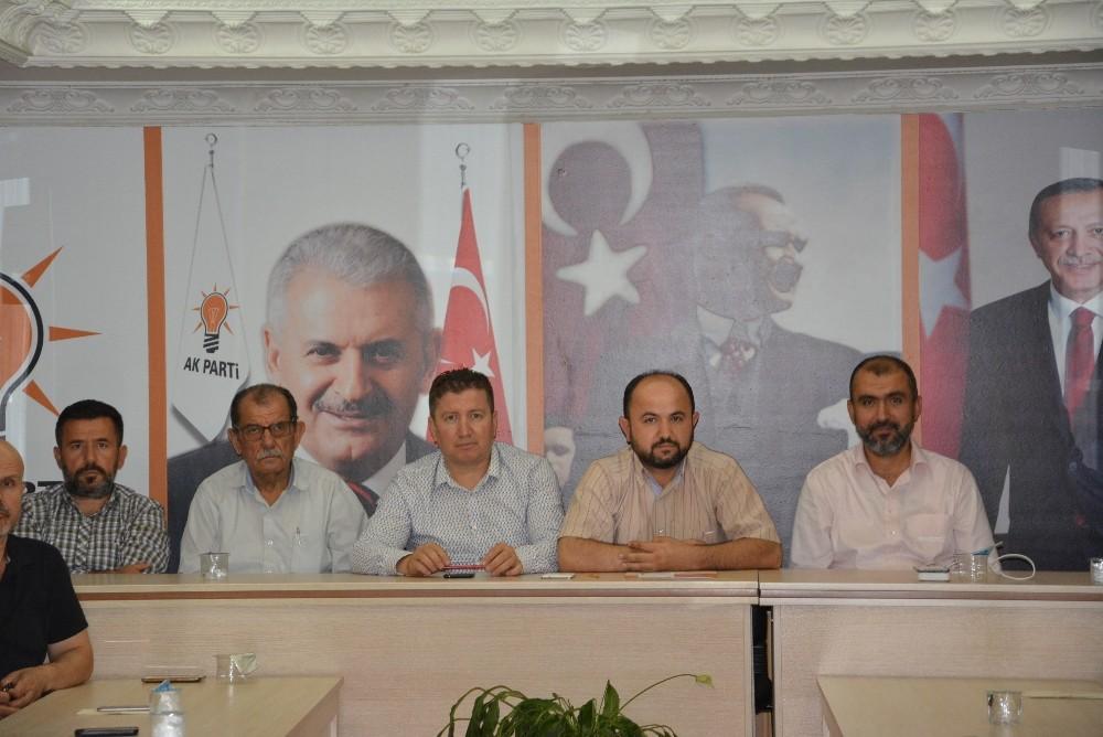 Ak Parti Korkuteli yönetim ilk toplantısını yaptı