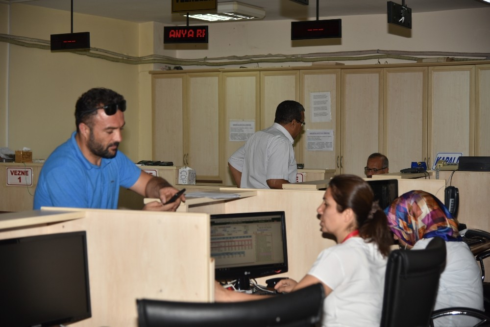 Alanya Belediyesi'nin tahsilat ofisleri bayramda da açık