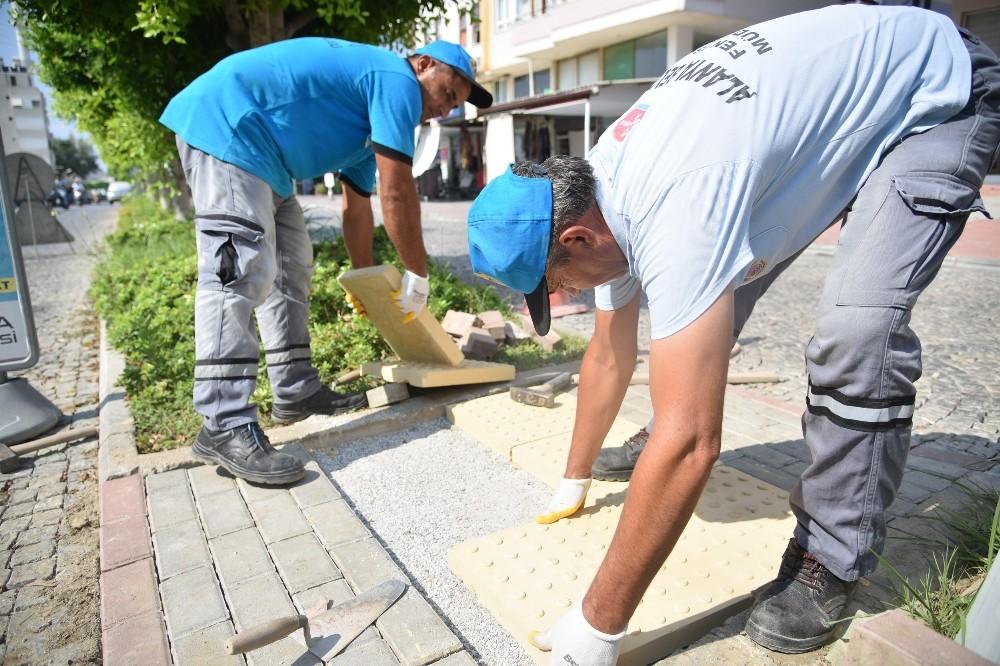 Alanya'da engelsiz kent çalışmaları