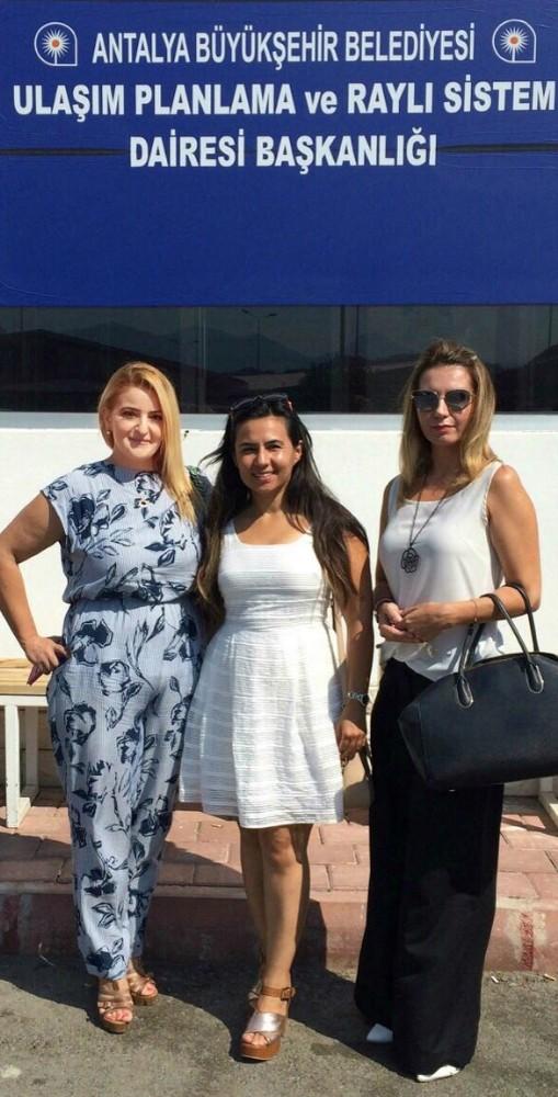 Antalya Barosu temsilcileri Faytoncular için UKOME'de