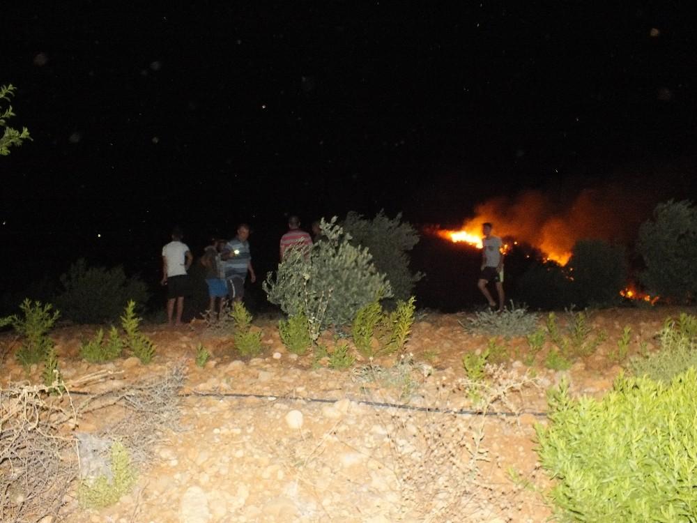 Antalya Serik'te ikinci yangın
