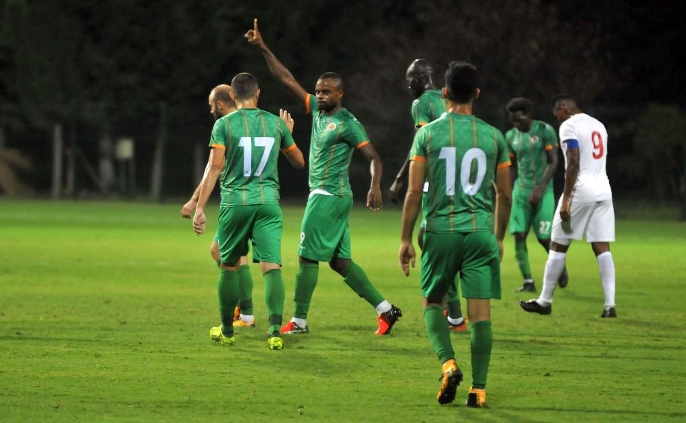 Antalya takımları hazırlık maçında yenişemedi