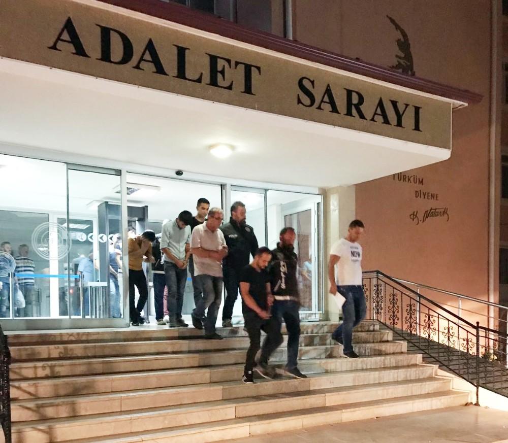 Antalya uyuşturucu operasyonu: 7 tutuklama
