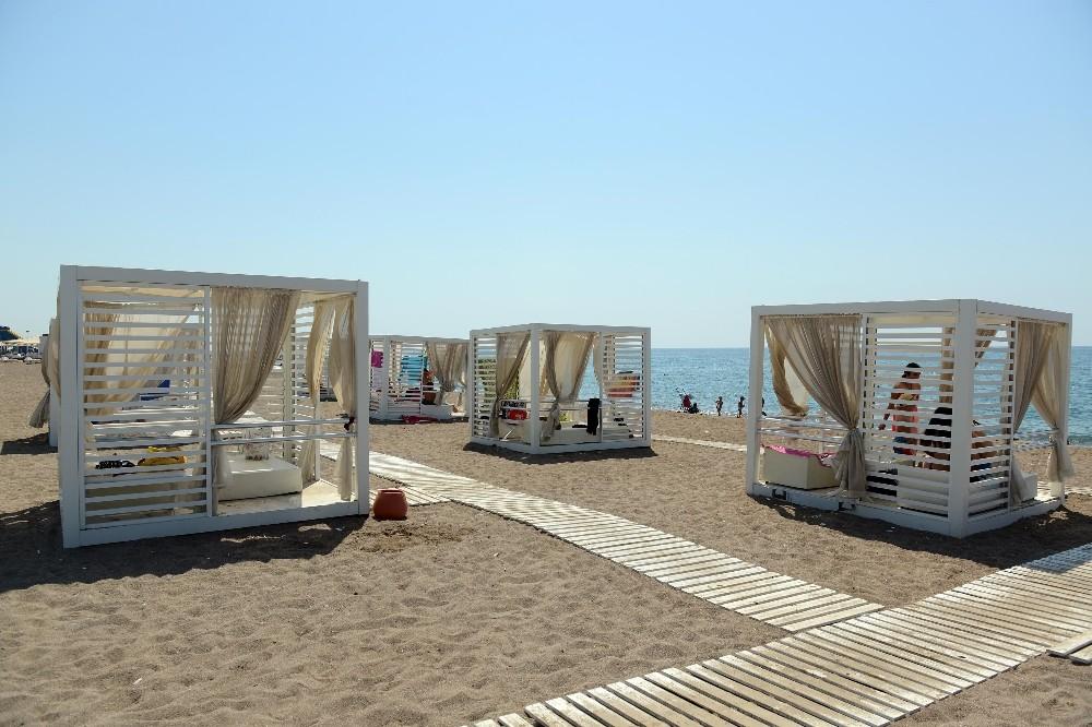 Antalya'da 5 yıldızlı halk plajı