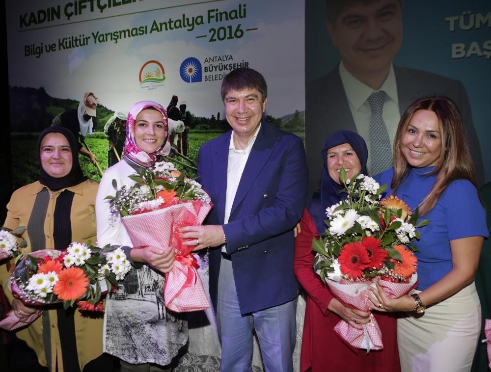 Antalya'da kadın çiftçiler ikinci kez yarışacak