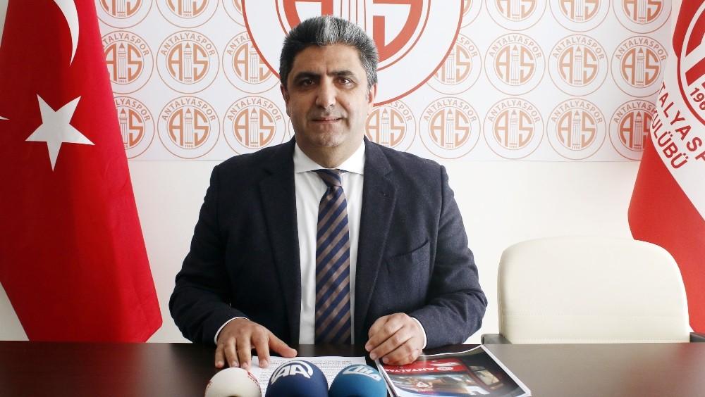 """Antalyaspor Basın Sözcüsü Bora Terzioğlu: """"Nasri'nin verdiği katkı sevindirici"""""""