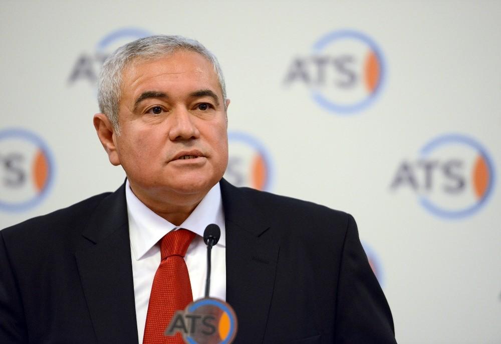 """ATSO Başkanı Davut Çetin: """"Elektrikten TRT payı kaldırılsın"""""""