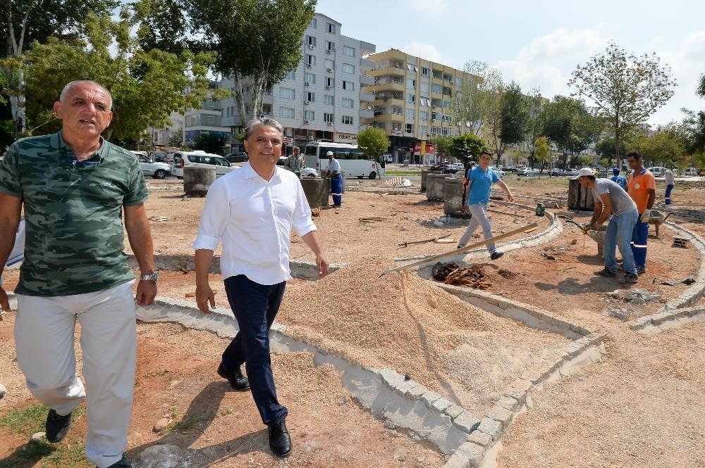 Başkan Uysal'dan Tarık Akan Parkı'na denetim