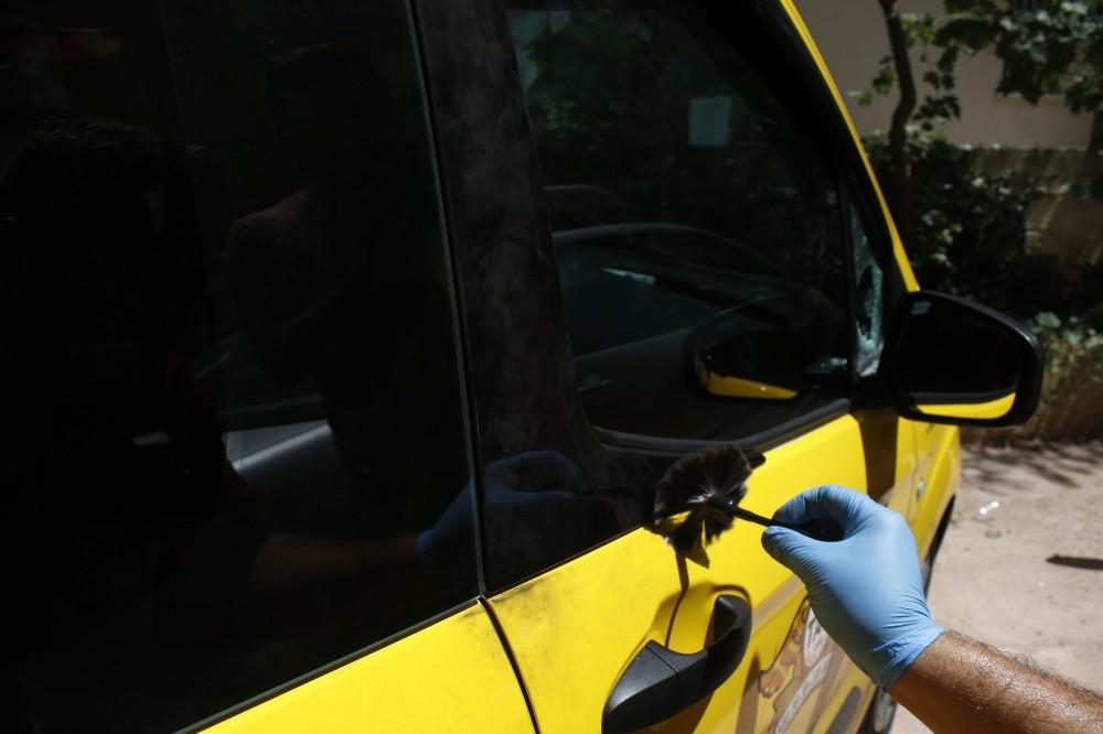 Elektrikli bisikletle ticari taksiden hırsızlık