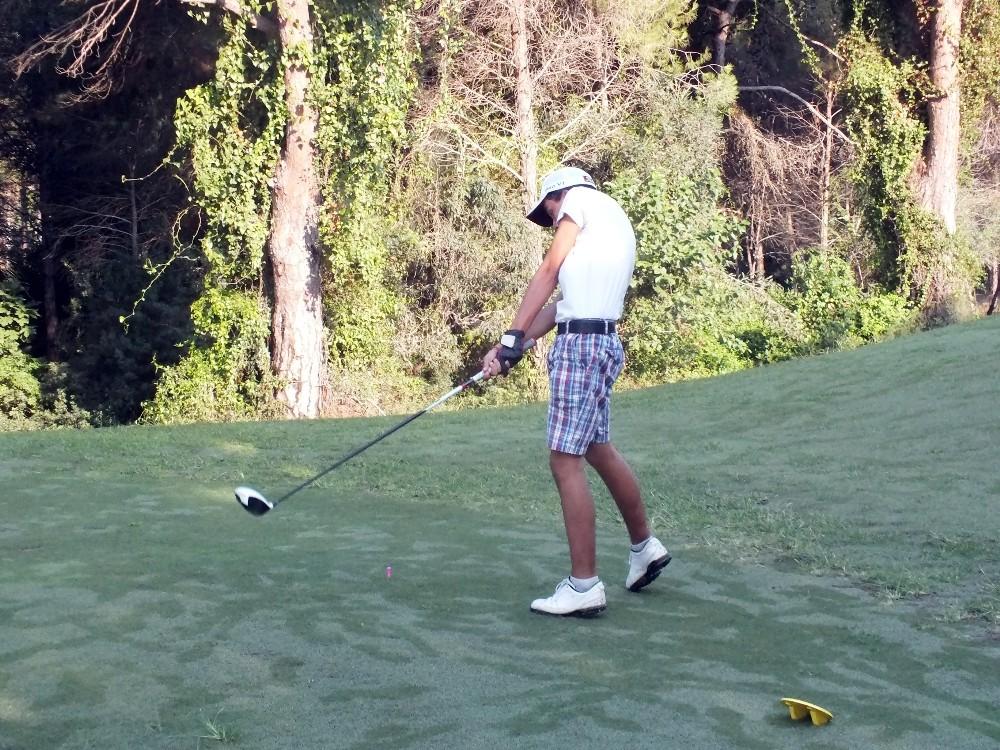 Golf'ün yıldız gençleri oyunlarıyla göz doldurdu