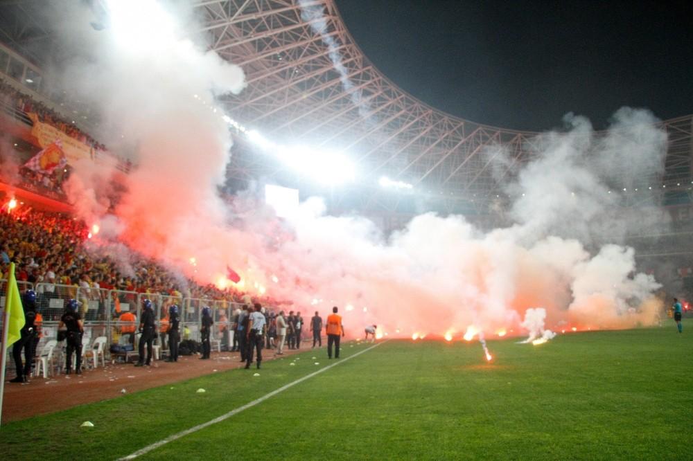 Göztepe-Eskişahir maçının ardından büyük operasyon