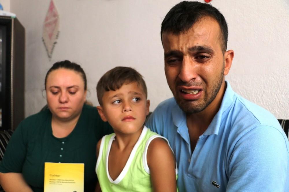 İşitme cihazı kaybolan küçük Efe sessizliğe mahkum oldu