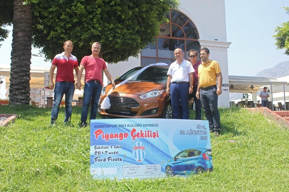 Kemerspor 2003, 30 Ağustos'ta otomobil verecek