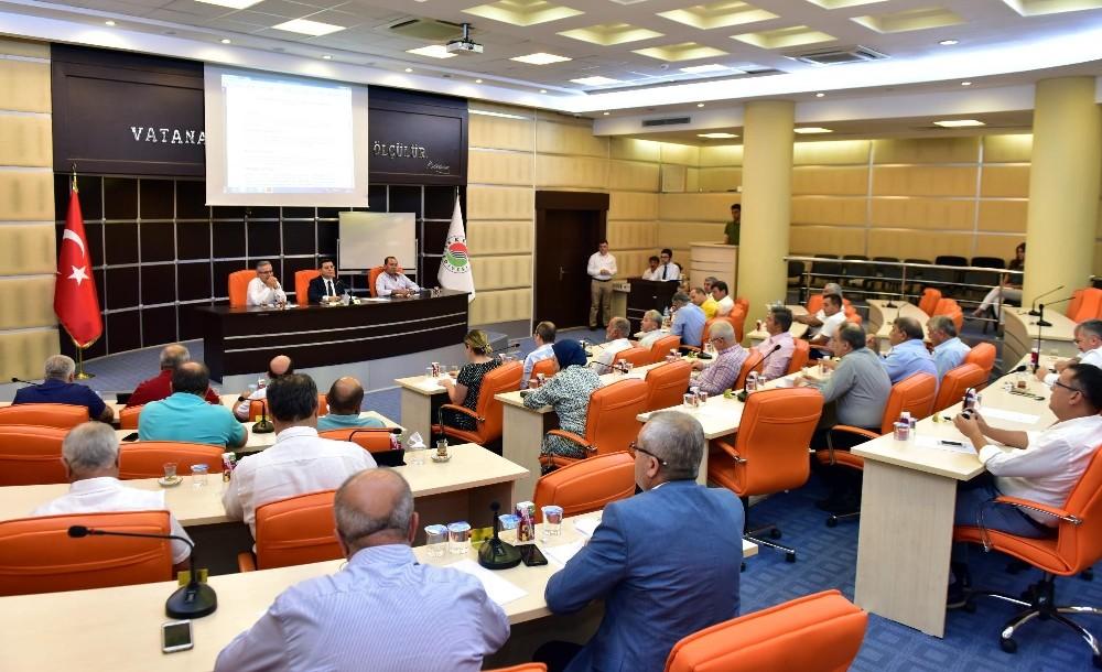 Kepez Belediyesi Meclisi toplandı