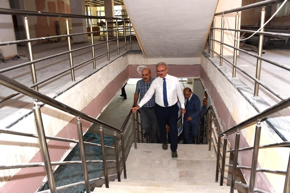 Kepez'de kamu hizmetleri tek çatı altında olacak