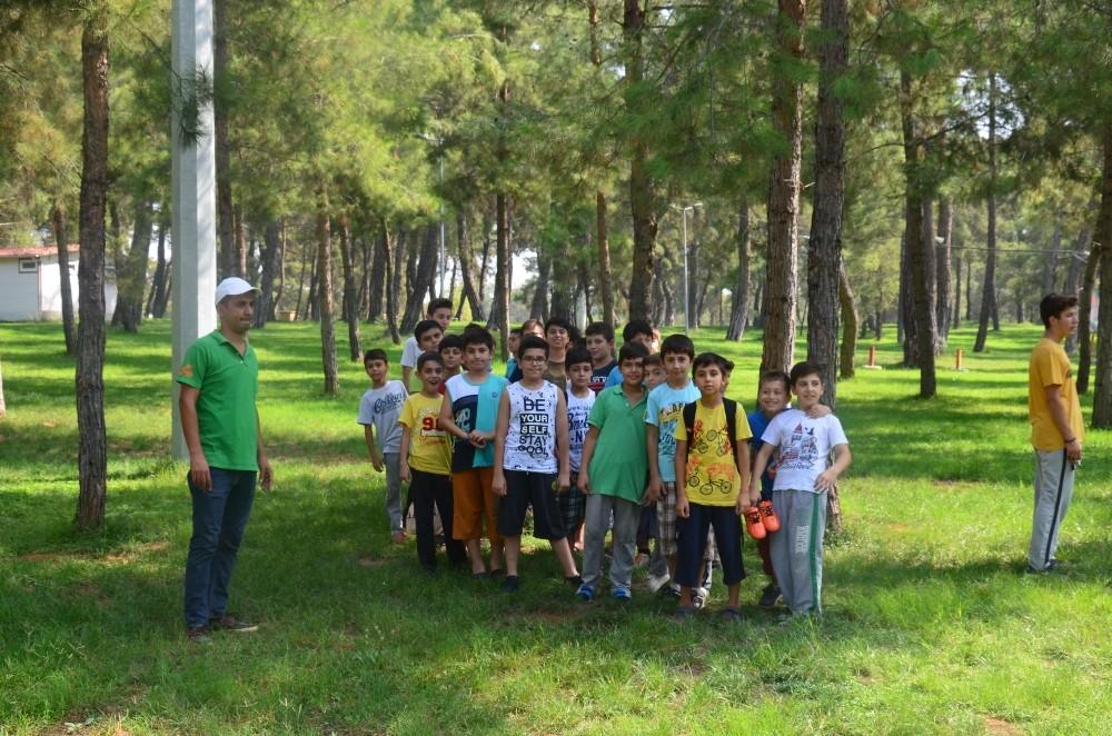 Kepez'den gençlere çevre bilinci