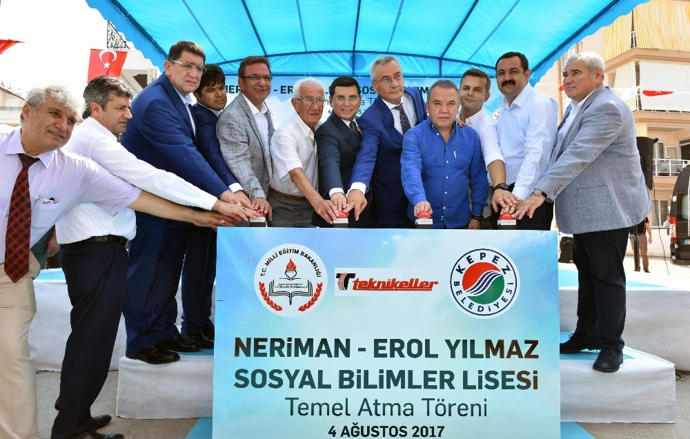 Kepez'e Sosyal Bilimler Lisesi