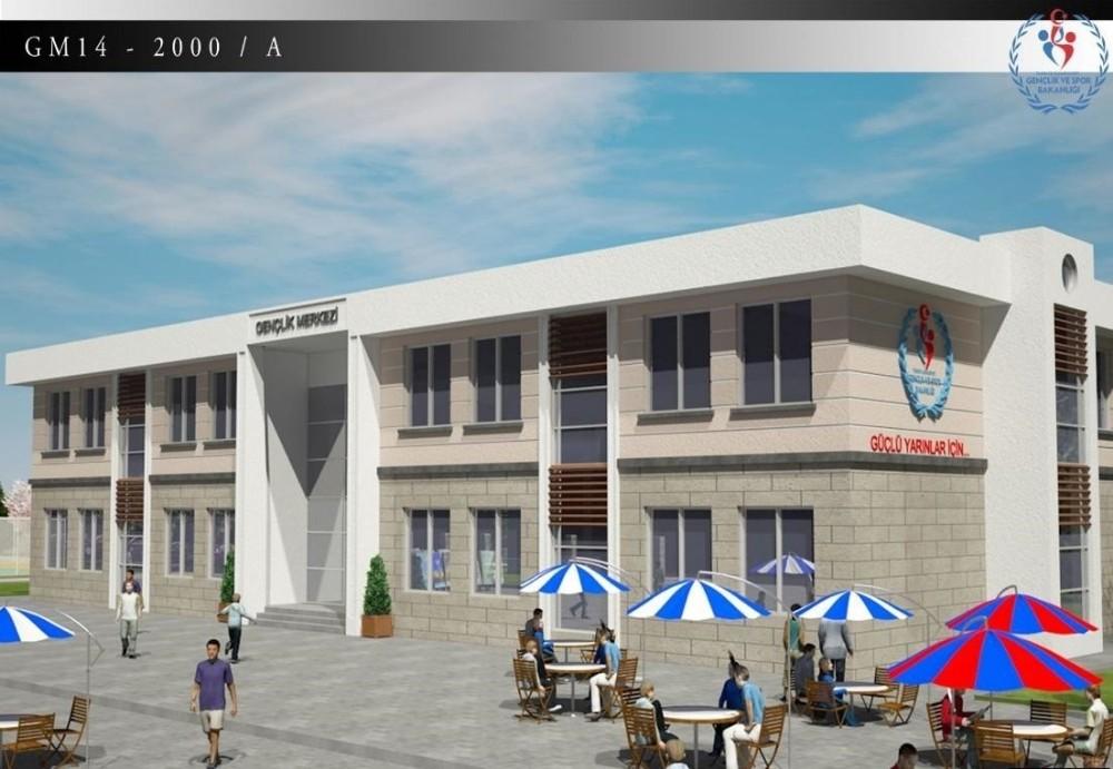 Manavgat Gençlik Merkezi 23 Ağustos'ta ihale edilecek