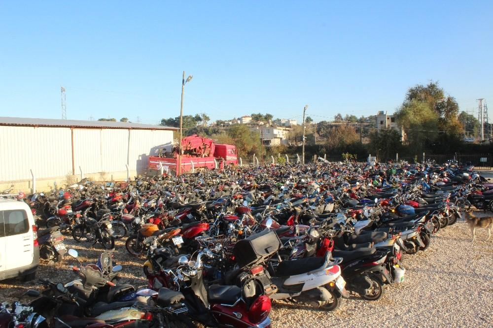 Manavgat'ta 3 ayda 445 motosiklet trafikten men edildi