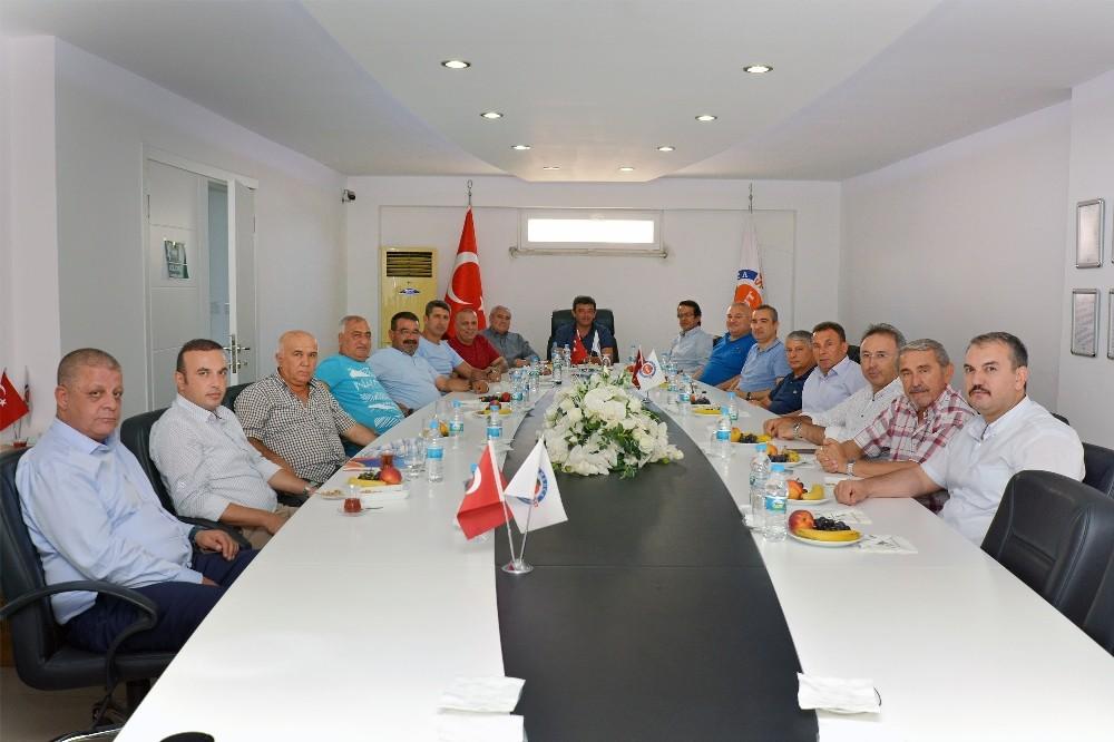 Oda başkanları Kumluca'da toplandı